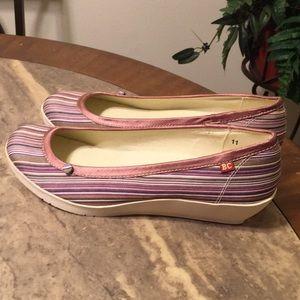 BC Footwear Fabric Wedges